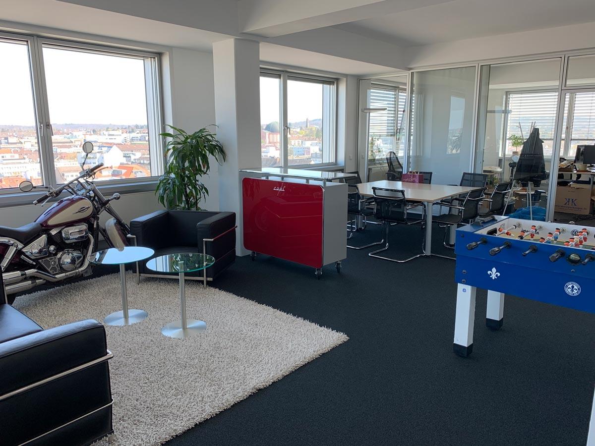 Aufenthaltsraum - 5 POINT AG projectfacts Darmstadt