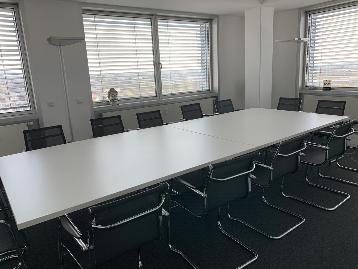 Besprechungsraum - 5 POINT AG projectfacts Darmstadt