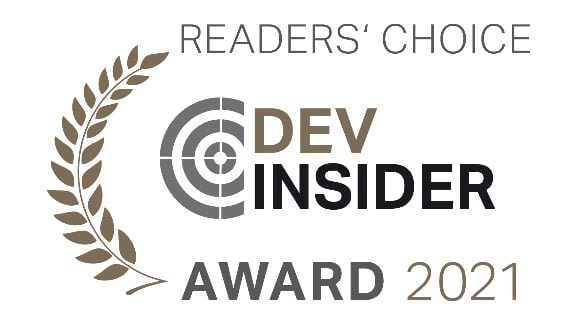 Dev Insider Award 2021 projectfacts