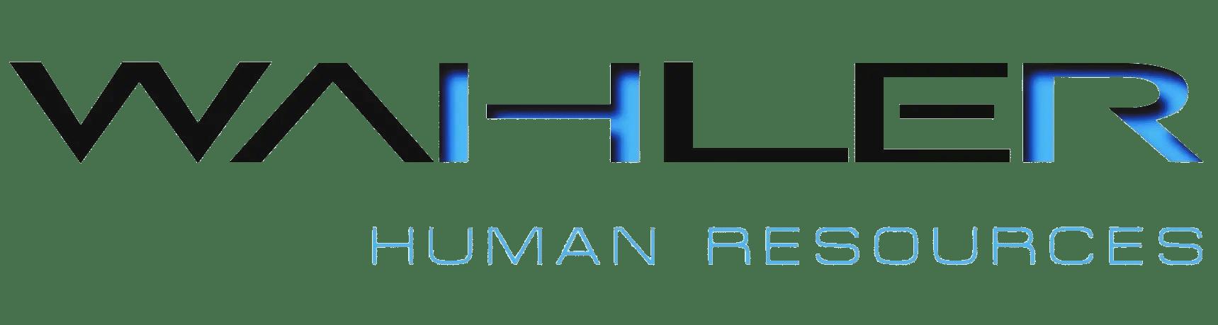 Logo WAHLER HR